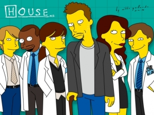house_m_d__simpsonified_by_mikkegallardo