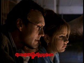 Giles y Buffy en la discoteca
